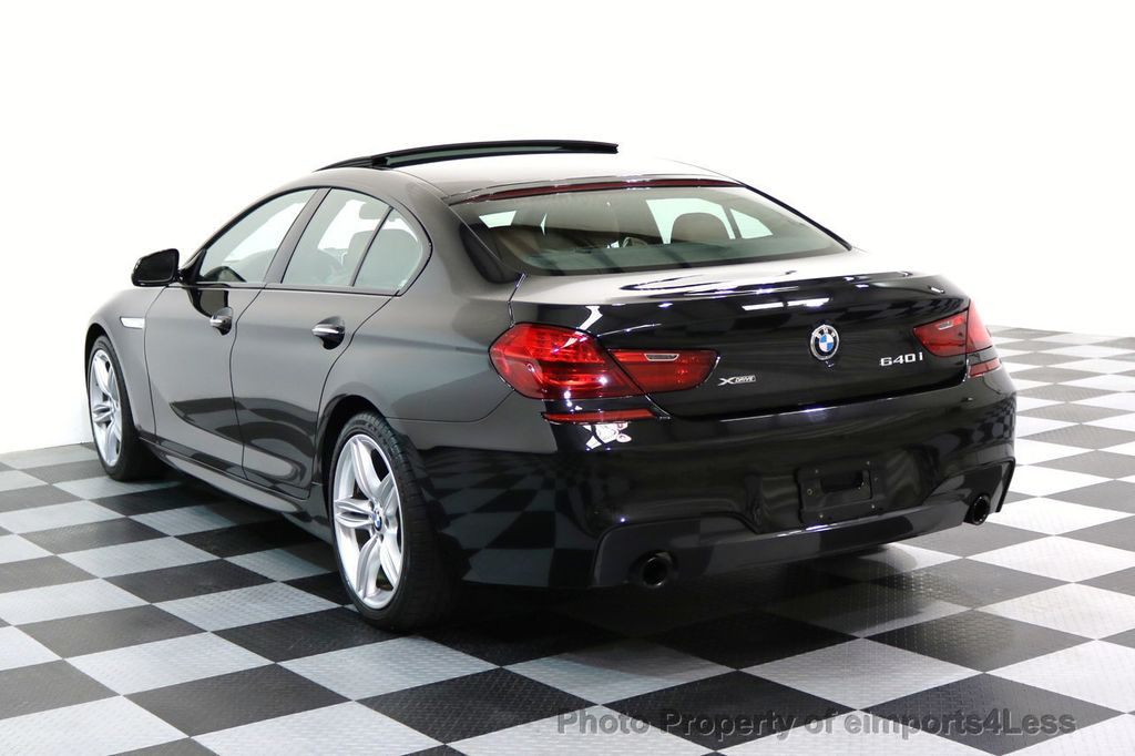 2016 BMW 6 Series CERTIFIED 640i xDRIVE M Sport Gran Coupe DRIVER ASSIST PLUS - 17425269 - 16