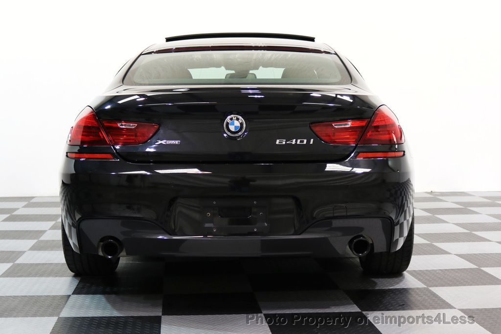 2016 BMW 6 Series CERTIFIED 640i xDRIVE M Sport Gran Coupe DRIVER ASSIST PLUS - 17425269 - 17