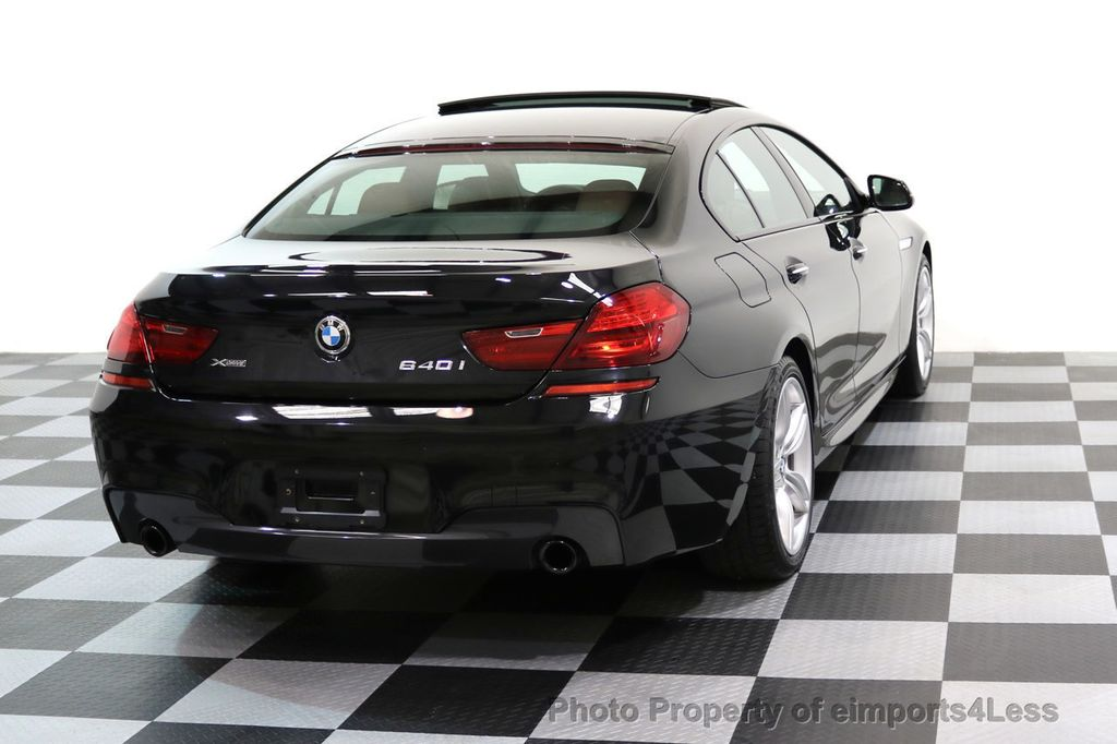 2016 BMW 6 Series CERTIFIED 640i xDRIVE M Sport Gran Coupe DRIVER ASSIST PLUS - 17425269 - 18