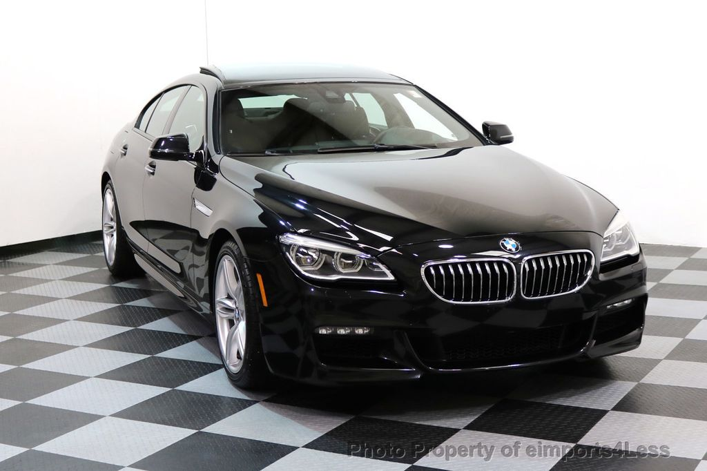 2016 BMW 6 Series CERTIFIED 640i xDRIVE M Sport Gran Coupe DRIVER ASSIST PLUS - 17425269 - 1