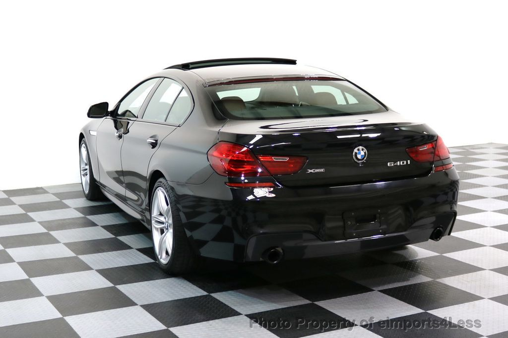 2016 BMW 6 Series CERTIFIED 640i xDRIVE M Sport Gran Coupe DRIVER ASSIST PLUS - 17425269 - 2