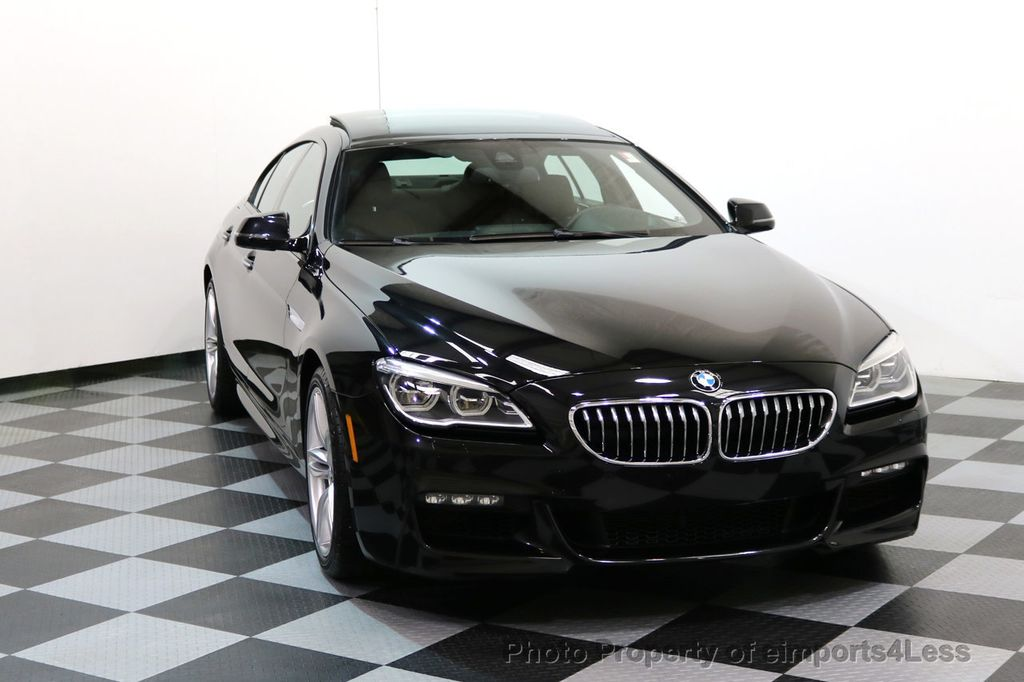 2016 BMW 6 Series CERTIFIED 640i xDRIVE M Sport Gran Coupe DRIVER ASSIST PLUS - 17425269 - 31