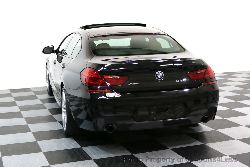 2016 BMW 6 Series CERTIFIED 640i xDRIVE M Sport Gran Coupe DRIVER ASSIST PLUS - 17425269 - 32