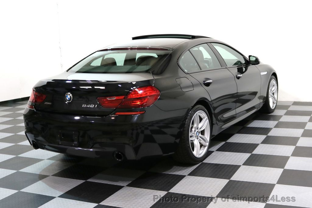 2016 BMW 6 Series CERTIFIED 640i xDRIVE M Sport Gran Coupe DRIVER ASSIST PLUS - 17425269 - 3