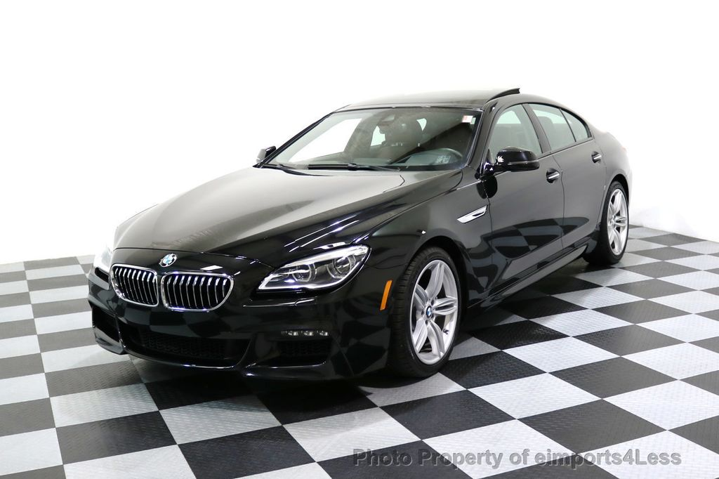 2016 BMW 6 Series CERTIFIED 640i xDRIVE M Sport Gran Coupe DRIVER ASSIST PLUS - 17425269 - 47