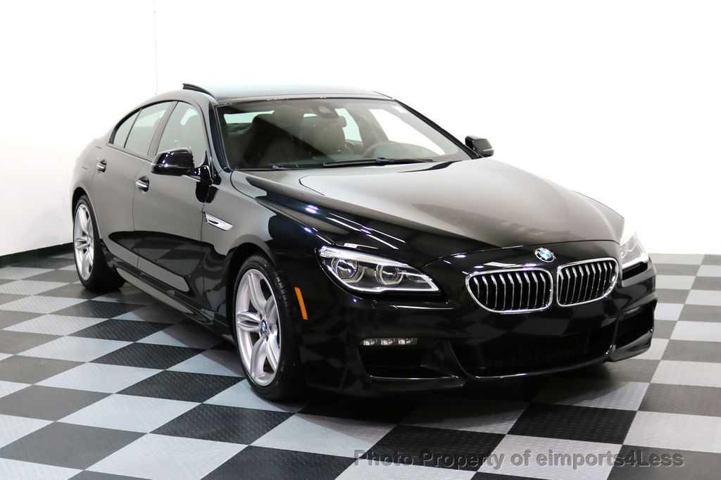 2016 BMW 6 Series CERTIFIED 640i xDRIVE M Sport Gran Coupe DRIVER ASSIST PLUS - 17425269 - 48