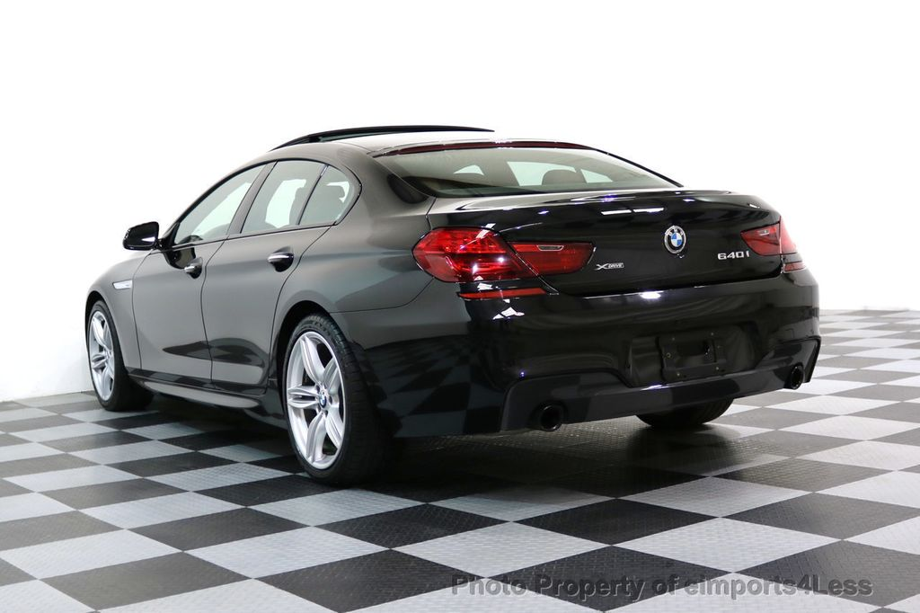 2016 BMW 6 Series CERTIFIED 640i xDRIVE M Sport Gran Coupe DRIVER ASSIST PLUS - 17425269 - 49