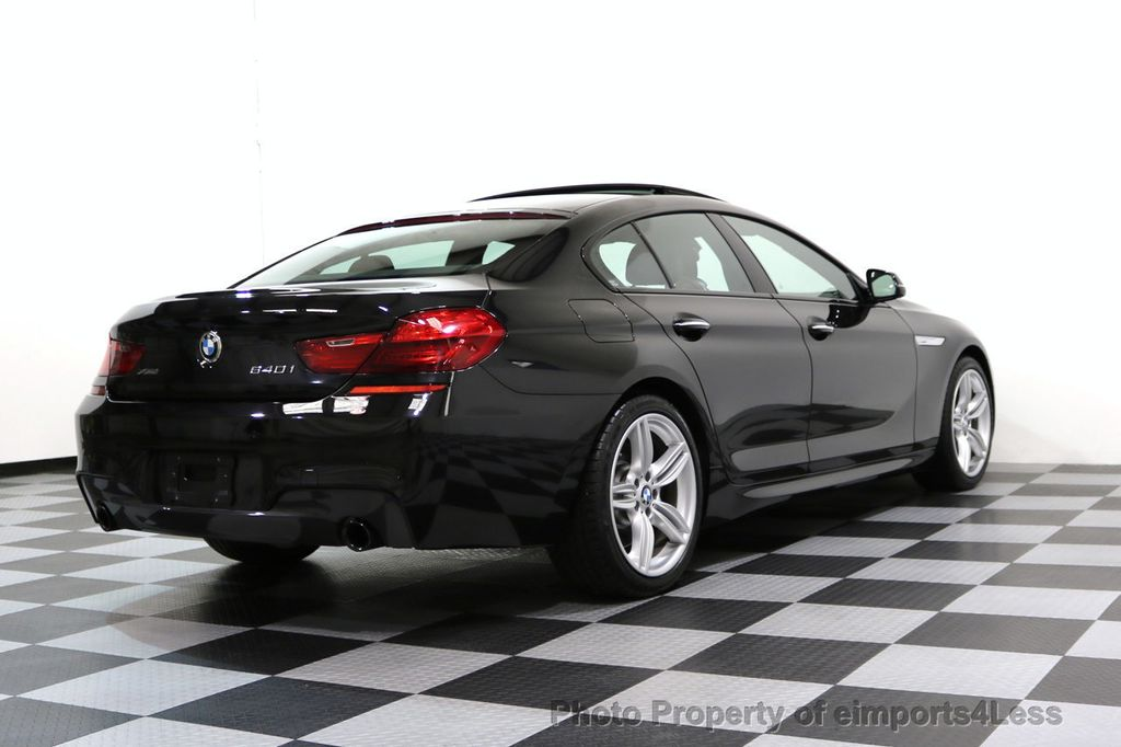 2016 BMW 6 Series CERTIFIED 640i xDRIVE M Sport Gran Coupe DRIVER ASSIST PLUS - 17425269 - 50