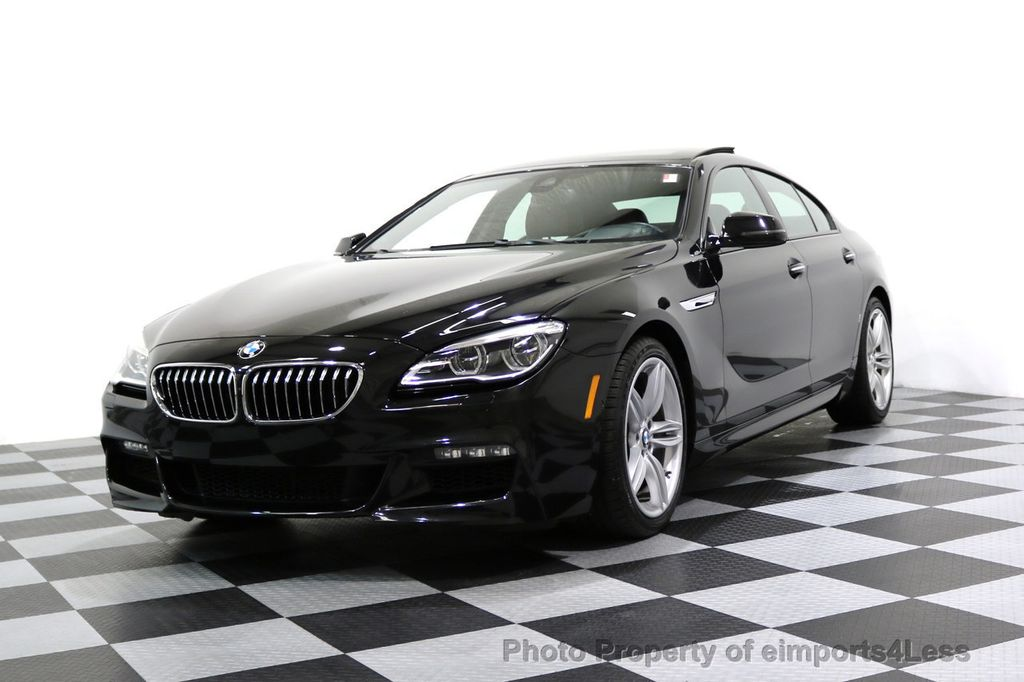 2016 BMW 6 Series CERTIFIED 640i xDRIVE M Sport Gran Coupe DRIVER ASSIST PLUS - 17425269 - 51