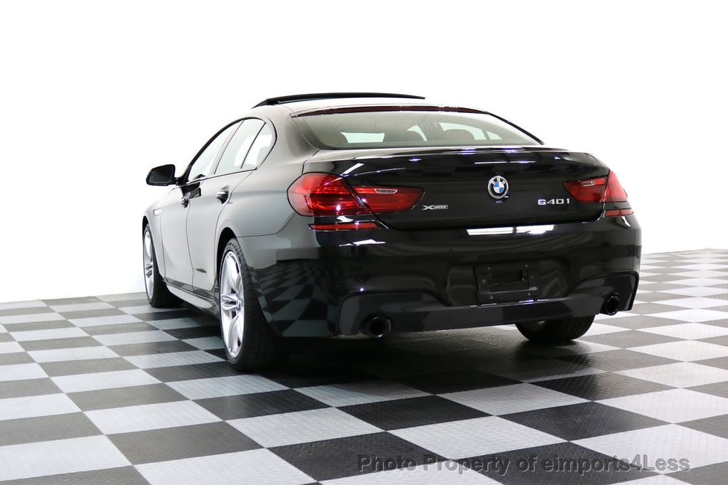 2016 BMW 6 Series CERTIFIED 640i xDRIVE M Sport Gran Coupe DRIVER ASSIST PLUS - 17425269 - 53