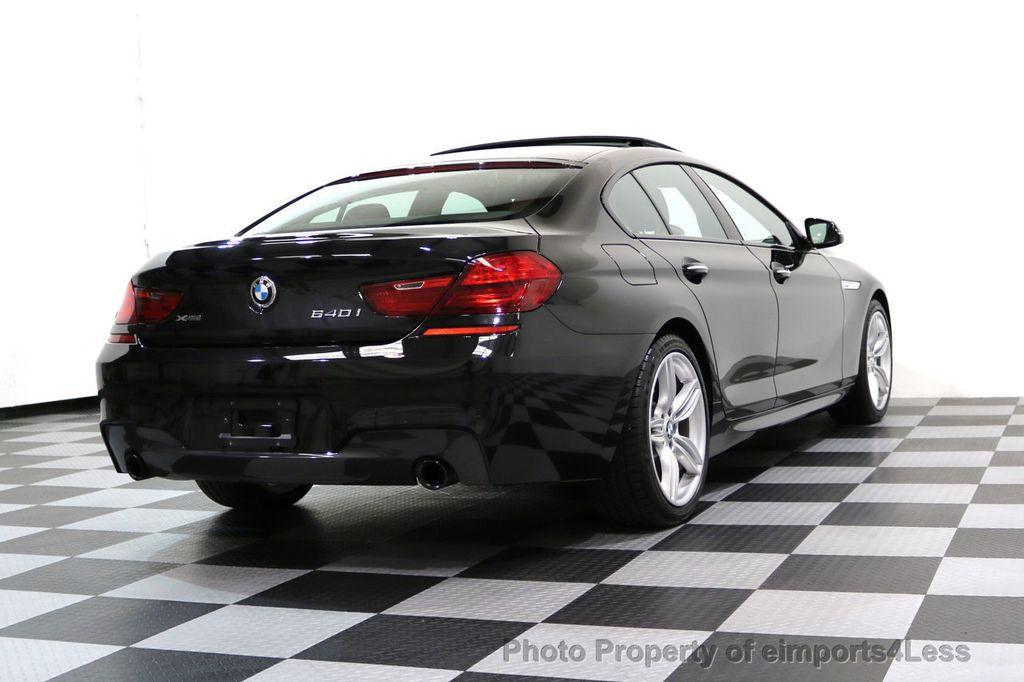 2016 BMW 6 Series CERTIFIED 640i xDRIVE M Sport Gran Coupe DRIVER ASSIST PLUS - 17425269 - 54