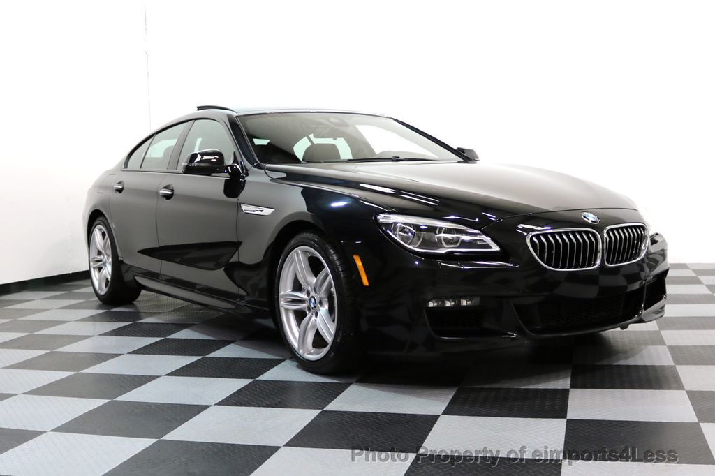 2016 BMW 6 Series CERTIFIED 640i xDRIVE M Sport Gran Coupe DRIVER ASSIST PLUS - 17425269 - 55