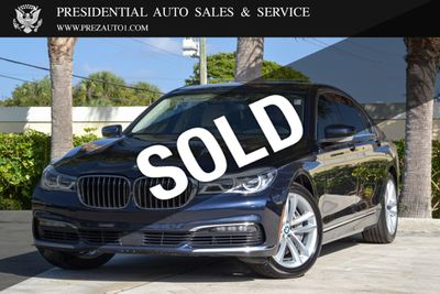 2016 Used Bmw 7 Series 750i At Presidential Auto Sales Service And Leasing Serving Palm Beach Boca Raton Delray Beach Fl Iid 20571467
