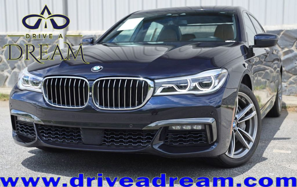 2016 BMW 7 Series 750i xDrive with Driver Assist Plus, Executive & M Sport Pkgs - 17622663 - 0