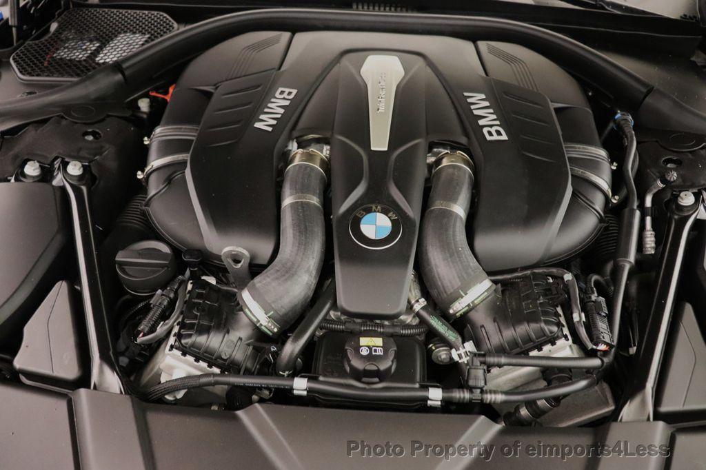 2016 BMW 7 Series CERTIFIED 750i xDrive M Sport AWD NAV CAM PANO BLIS HUD - 18587058 - 21