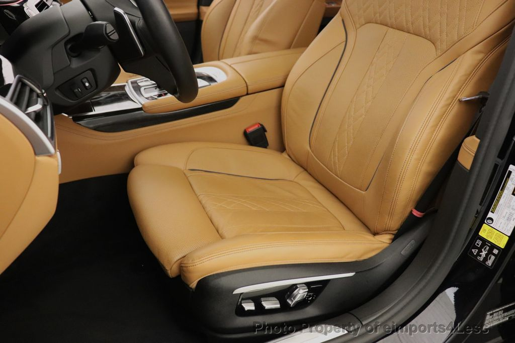 2016 BMW 7 Series CERTIFIED 750i xDrive M Sport AWD NAV CAM PANO BLIS HUD - 18587058 - 24