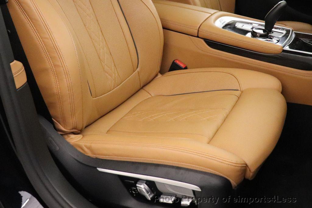 2016 BMW 7 Series CERTIFIED 750i xDrive M Sport AWD NAV CAM PANO BLIS HUD - 18587058 - 25