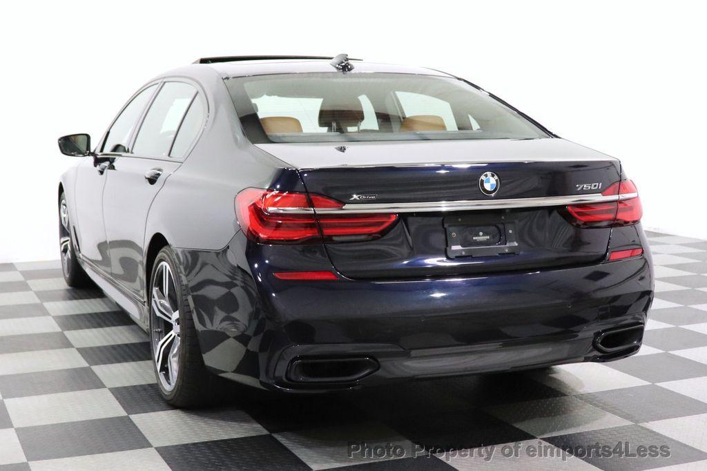 2016 BMW 7 Series CERTIFIED 750i xDrive M Sport AWD NAV CAM PANO BLIS HUD - 18587058 - 30