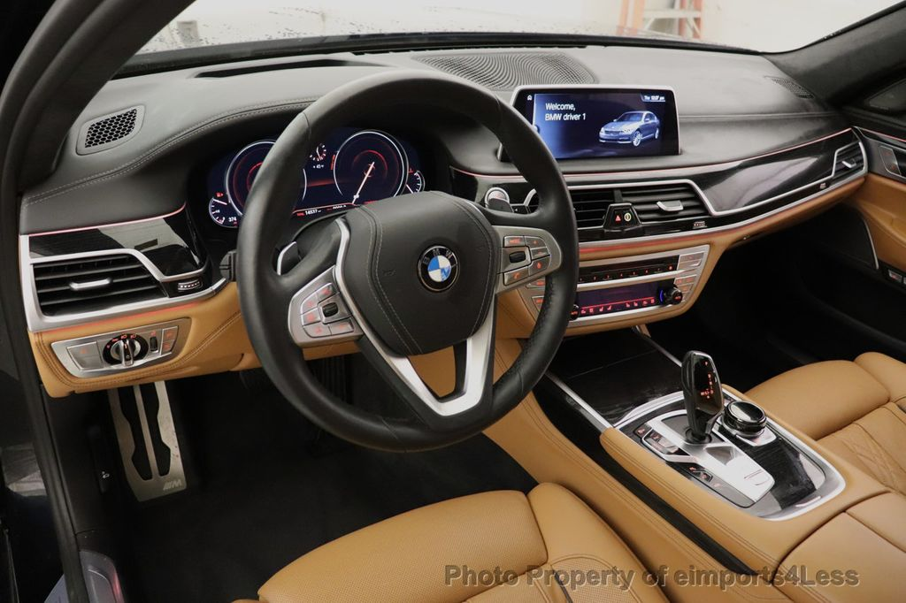 2016 BMW 7 Series CERTIFIED 750i xDrive M Sport AWD NAV CAM PANO BLIS HUD - 18587058 - 33