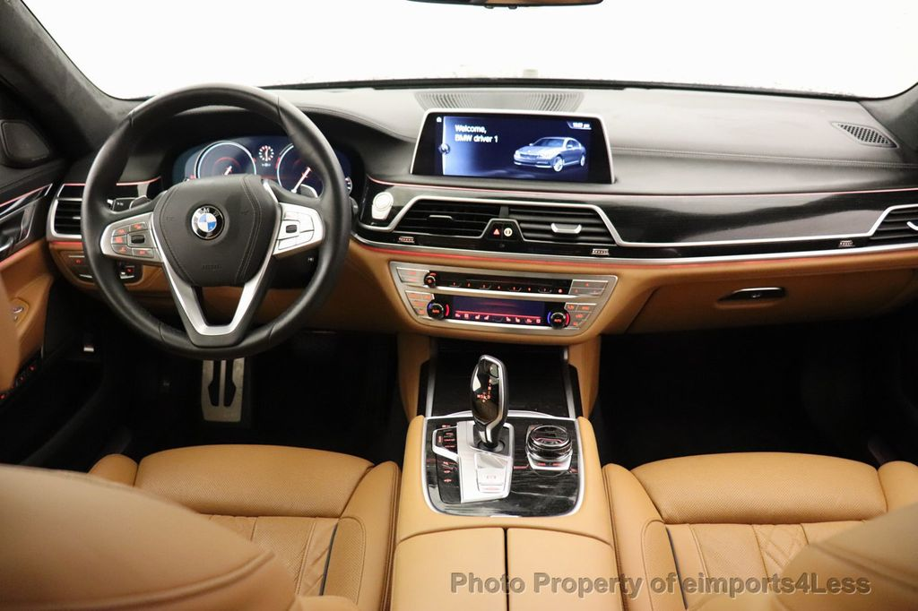 2016 BMW 7 Series CERTIFIED 750i xDrive M Sport AWD NAV CAM PANO BLIS HUD - 18587058 - 34