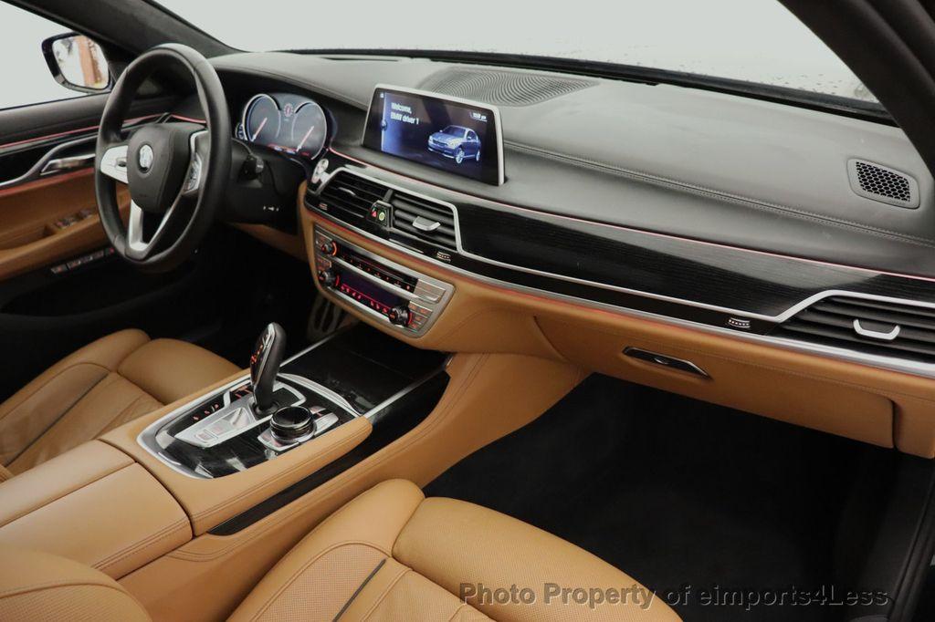 2016 BMW 7 Series CERTIFIED 750i xDrive M Sport AWD NAV CAM PANO BLIS HUD - 18587058 - 35