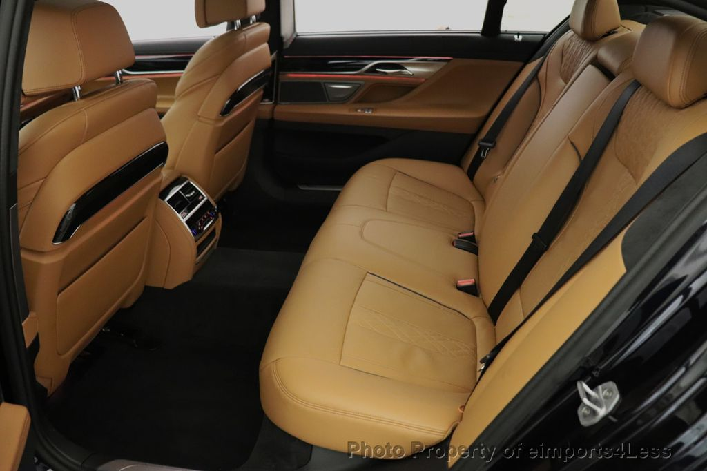 2016 BMW 7 Series CERTIFIED 750i xDrive M Sport AWD NAV CAM PANO BLIS HUD - 18587058 - 36