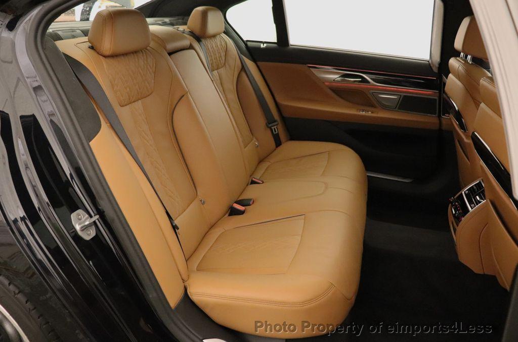 2016 BMW 7 Series CERTIFIED 750i xDrive M Sport AWD NAV CAM PANO BLIS HUD - 18587058 - 37
