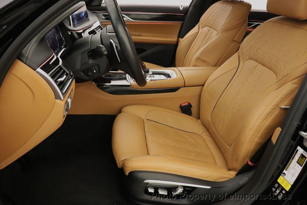 2016 BMW 7 Series CERTIFIED 750i xDrive M Sport AWD NAV CAM PANO BLIS HUD - 18587058 - 38