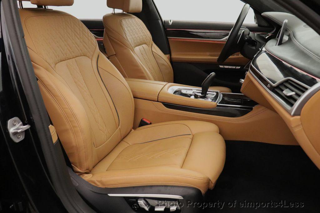 2016 BMW 7 Series CERTIFIED 750i xDrive M Sport AWD NAV CAM PANO BLIS HUD - 18587058 - 39