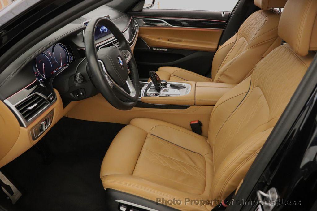 2016 BMW 7 Series CERTIFIED 750i xDrive M Sport AWD NAV CAM PANO BLIS HUD - 18587058 - 47