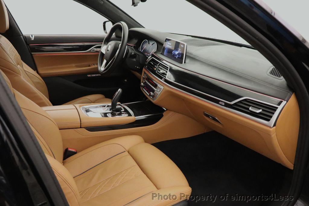 2016 BMW 7 Series CERTIFIED 750i xDrive M Sport AWD NAV CAM PANO BLIS HUD - 18587058 - 48