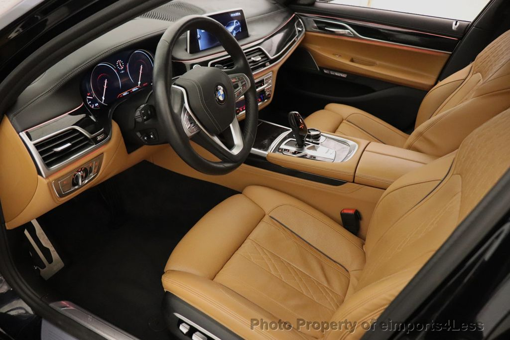 2016 BMW 7 Series CERTIFIED 750i xDrive M Sport AWD NAV CAM PANO BLIS HUD - 18587058 - 5