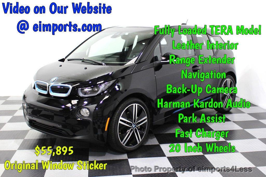 2016 BMW i3 CERTIFIED i3 REXT TERA Nav Cam Adaptive cruise - 18240934 - 0