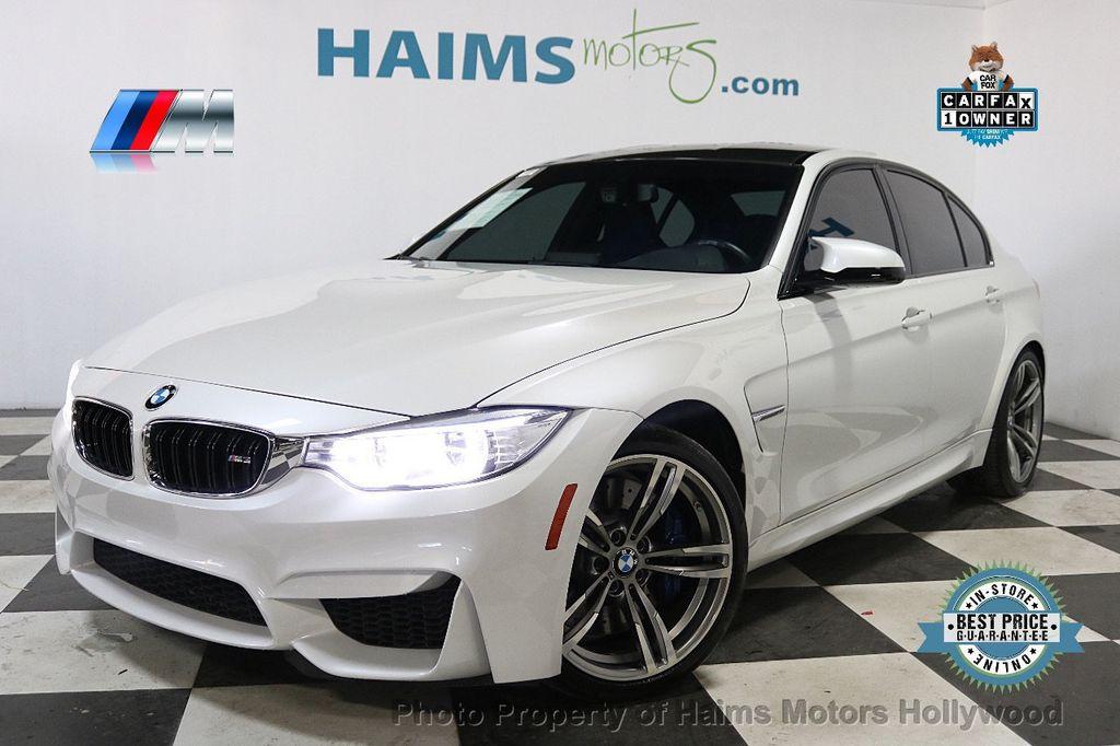 2016 BMW M3  - 18528405 - 0