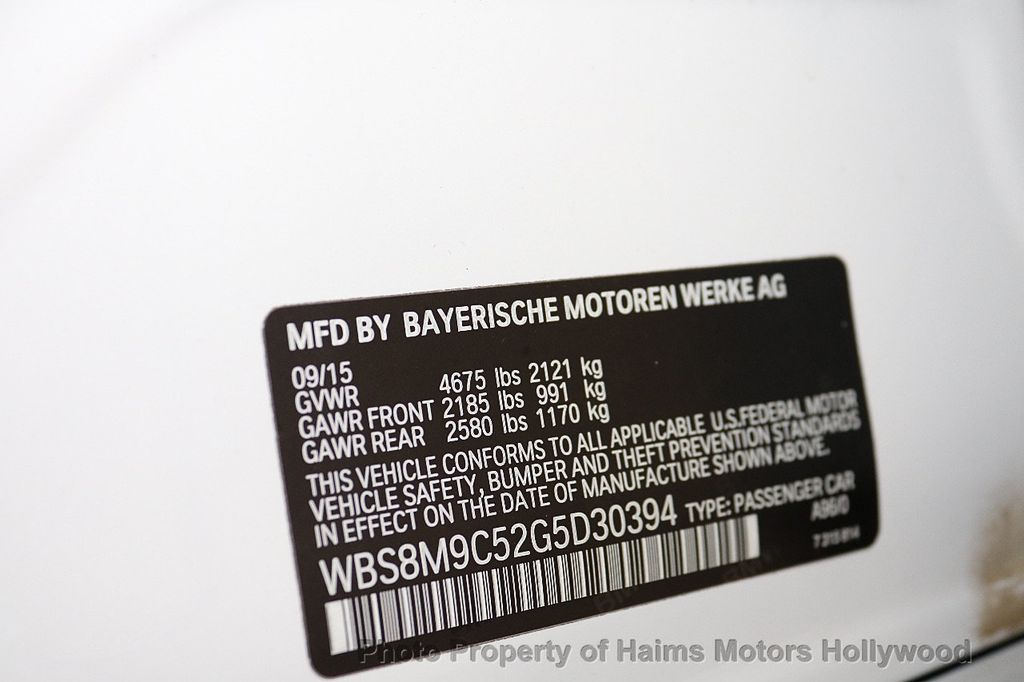 2016 BMW M3  - 18528405 - 36