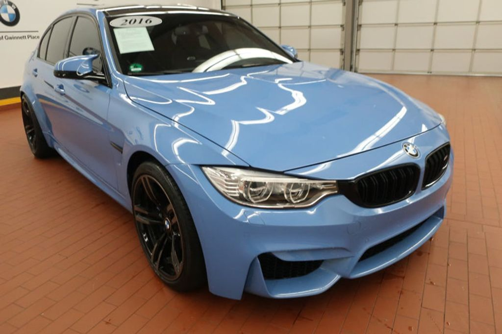 2016 Used Bmw M3 At Bmw Of North Atlanta Ga Iid 18213909