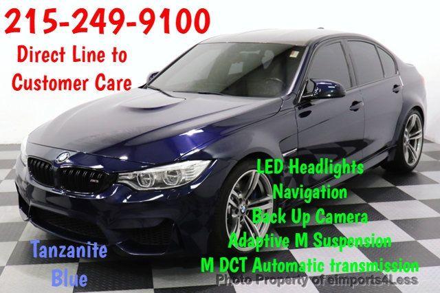 2016 Bmw M3 Certified M3 Exec Nav Camera Led Hud Sedan For Sale Perkasie Pa 47 000 Motorcar Com