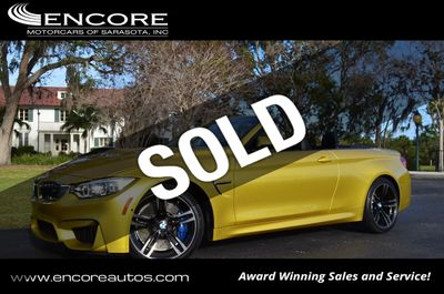 2016 BMW M4 2 Door Convertible W/Executive and Navigation Packages