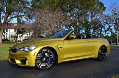 2016 BMW M4 2 Door Convertible W/Executive and Navigation Packages - Click to see full-size photo viewer