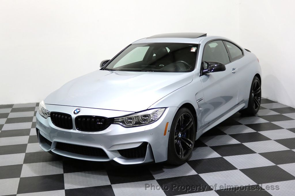 2016 BMW M4 CERTIFIED M4 COUPE EXEC SUSPENSION LED NAVI - 17270740 - 0