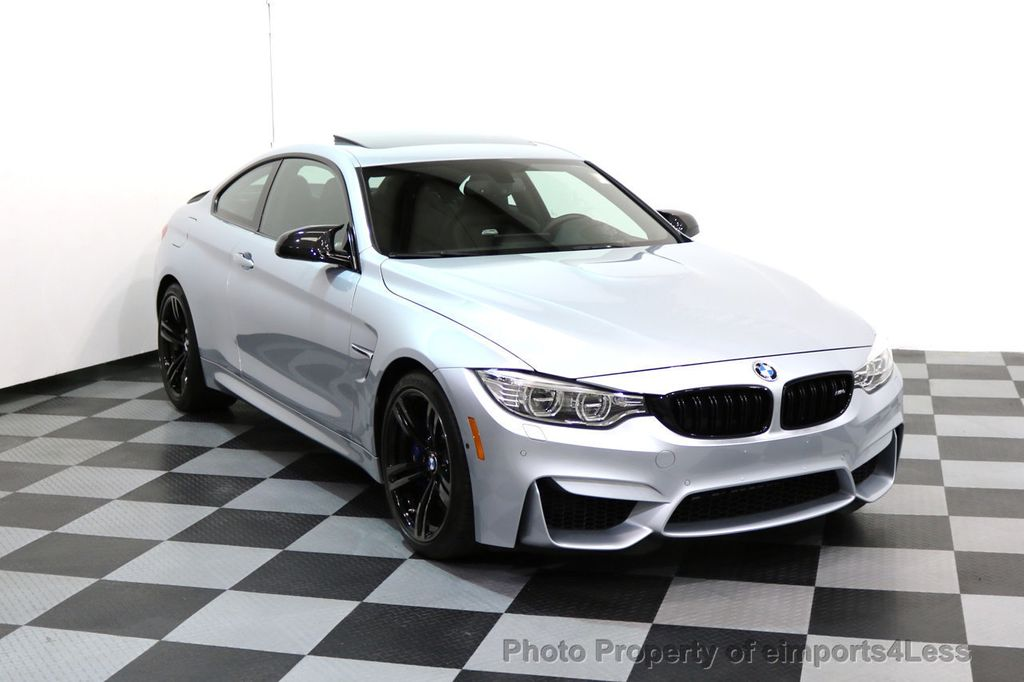 2016 BMW M4 CERTIFIED M4 COUPE EXEC SUSPENSION LED NAVI - 17270740 - 1