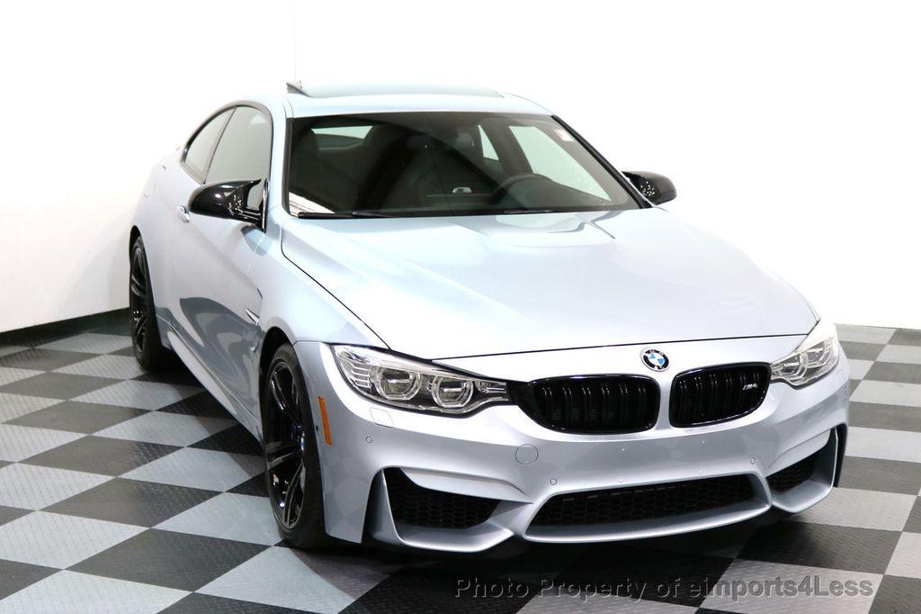 2016 BMW M4 CERTIFIED M4 COUPE EXEC SUSPENSION LED NAVI - 17270740 - 27