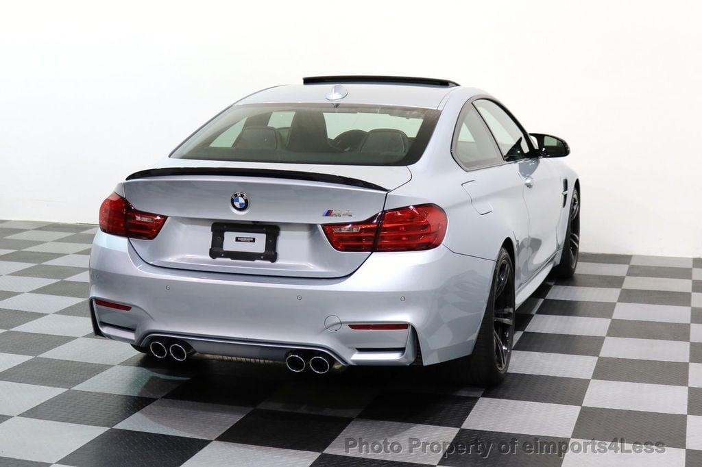 2016 BMW M4 CERTIFIED M4 COUPE EXEC SUSPENSION LED NAVI - 17270740 - 30