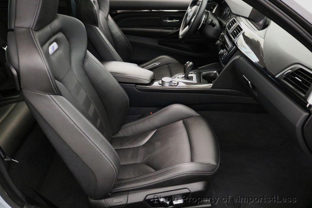 2016 BMW M4 CERTIFIED M4 COUPE EXEC SUSPENSION LED NAVI - 17270740 - 33