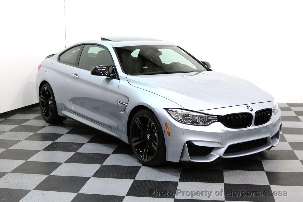 2016 BMW M4 CERTIFIED M4 COUPE EXEC SUSPENSION LED NAVI - 17270740 - 38
