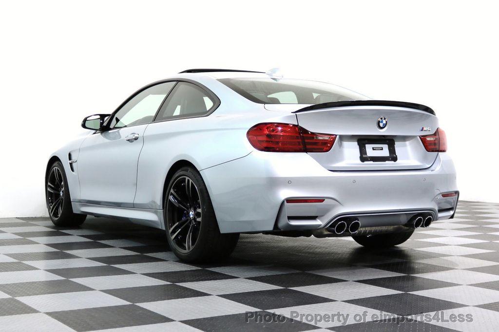 2016 BMW M4 CERTIFIED M4 COUPE EXEC SUSPENSION LED NAVI - 17270740 - 46