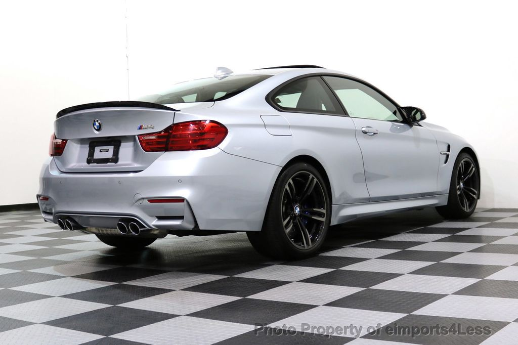 2016 BMW M4 CERTIFIED M4 COUPE EXEC SUSPENSION LED NAVI - 17270740 - 47