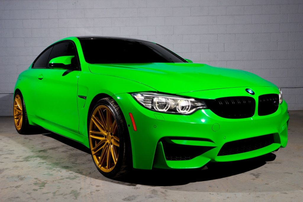 2016 BMW M4 **ULTRA RARE**BMW INDIVIDUAL SIGNAL GREEN**1-OWNER** - 18601059 - 0