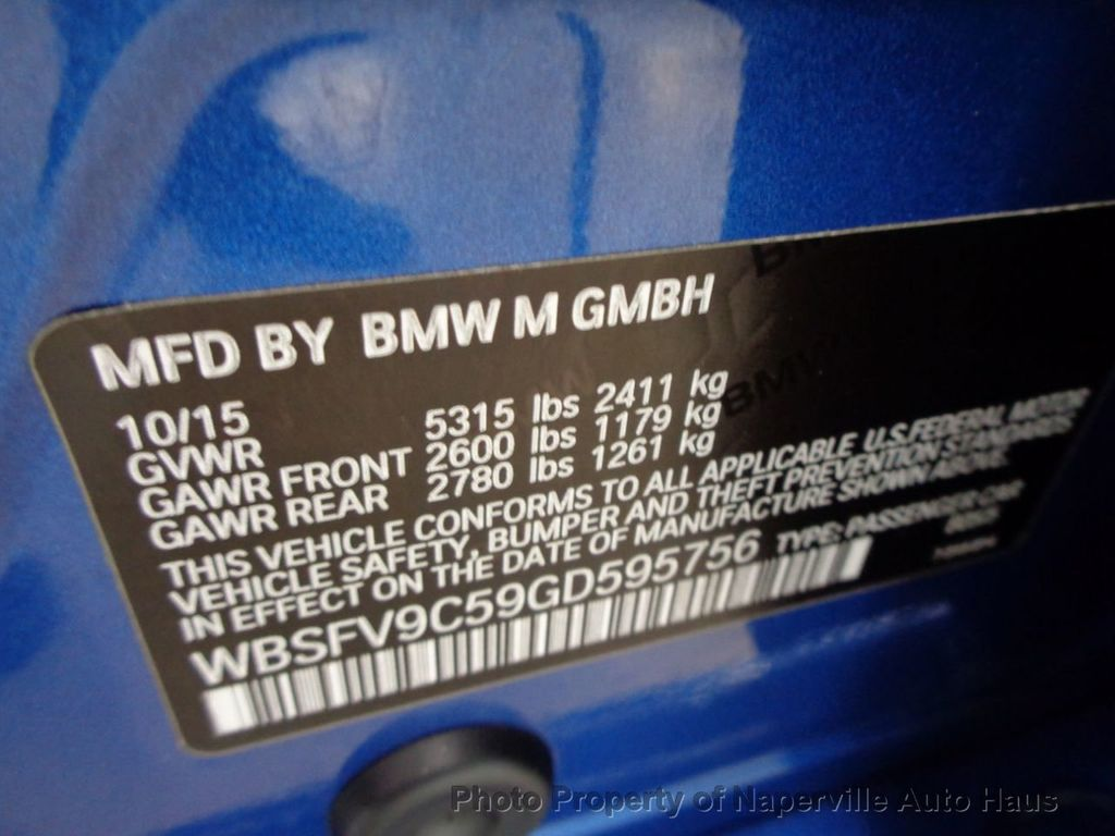 2016 BMW M5 4dr Sedan - 18300960 - 57