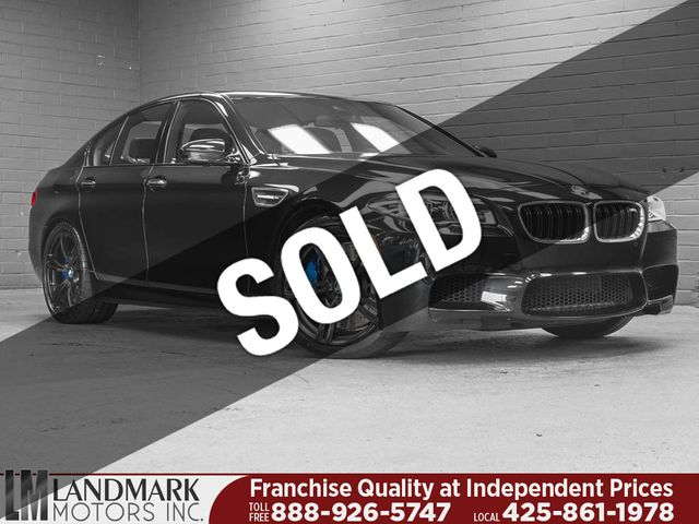 Used Bmw M5 >> 2016 Used Bmw M5 4dr Sedan At Landmark Motors Inc Serving Seattle Bellevue Wa Iid 19097046